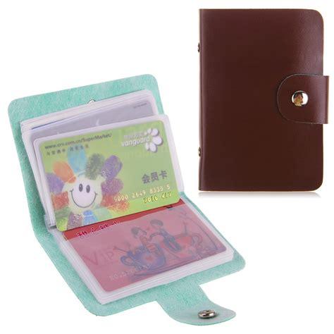 rangement carte de visite cartes de visite porte cartes sac de rangement de carte de cr 233 dit caisse pocket ebay