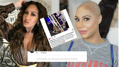 Tamar Braxton Jacks Adrienne Bailon Instagram Post And