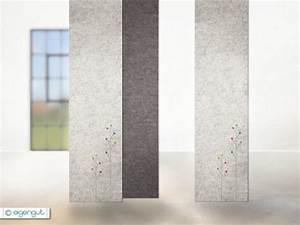 Vorhang Nach Maß : vorh nge vorhang aus filz mit dots blumen nach ma ~ Eleganceandgraceweddings.com Haus und Dekorationen