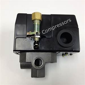 Air Compressor Replacement Pressure Switch  Four Port  175