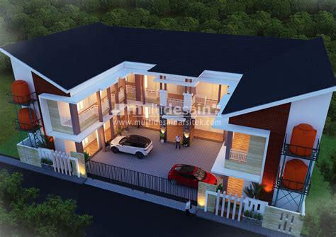 rumah kos  lantai  madiun multidesain arsitek