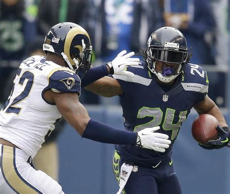 seattle seahawks  st louis rams breaking  seattle