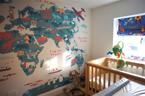 Decorating A Travel Themed Child's Bedroom