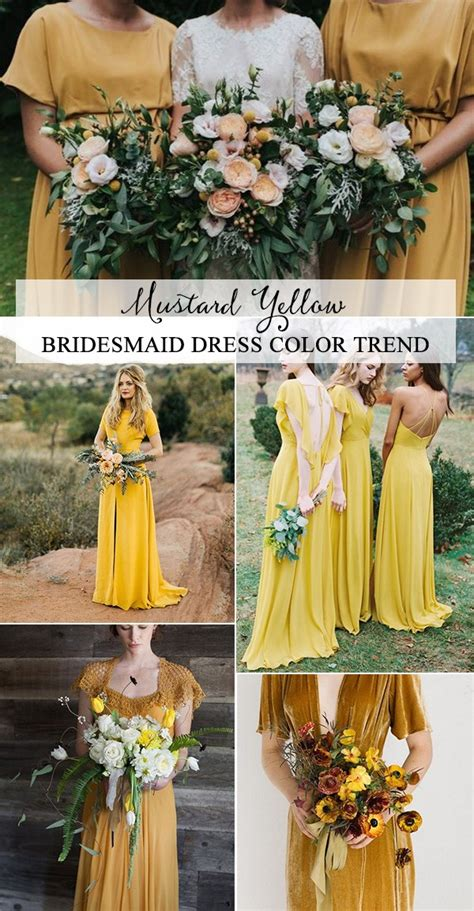 top  bridesmaid dress color trends