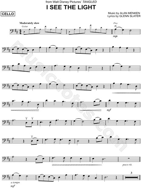 i see the light piano pdf quot i see the light quot from 39 tangled 39 sheet music cello solo