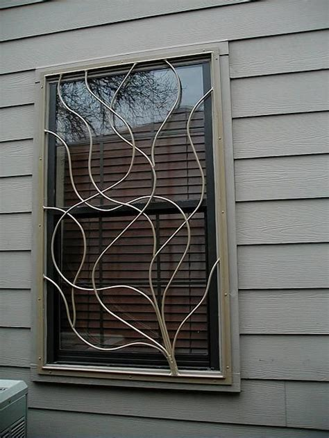 decorative security bars for residential windows best 25 window bars ideas on window security