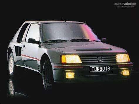 image gallery t16 peugeot 205 t16 specs 1984 1985 autoevolution