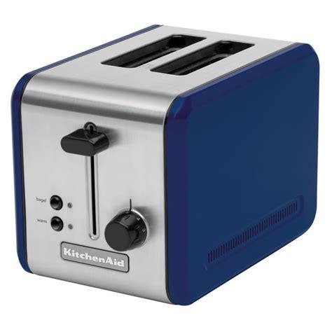 Kitchenaid Toaster Blue kitchenaid kmtt200bw blue willow stainless steel two slot