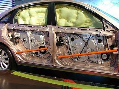 hyundai azera side impact beams  airbags boron
