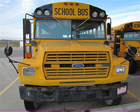 ford  school bus item  sold march
