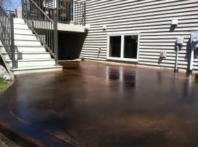 Diy Concrete Staining Image