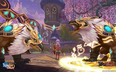 Saga Is A Free To Play Anime Mmo Mmorpg In World Devastated By War Between Two Preternatural Which Has Aeria Announces Anime Mmorpg Saga Mmo
