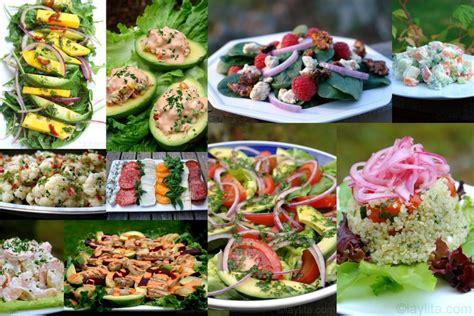 types  salads types