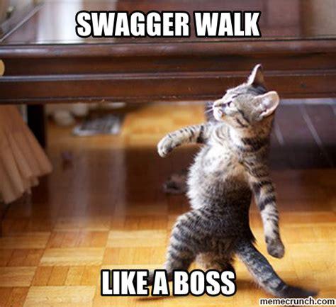 Meme Walking - swagger walk