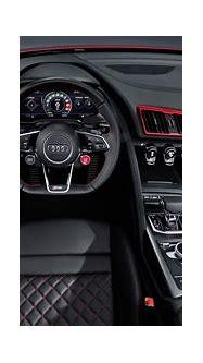 Audi R8 V10 RWD Spyder 2019 4K Interior Wallpaper | HD Car ...
