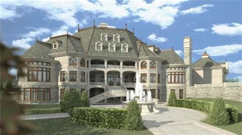 Chateau House Plans by Luxury Closets Luxury Chateau House Plans