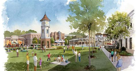peachtree corners town center partnership gwinnett