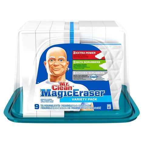 mr clean bathroom cleaner pads mr clean magic eraser variety pack 9 ct jet