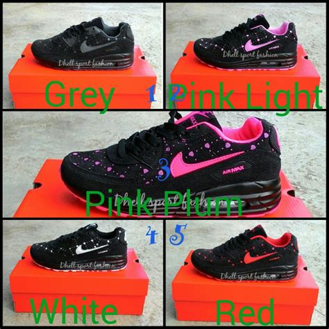 Sepatu Nike Airmax Pink Mix jual sepatu nike airmax running fashion sport 6 di