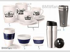 BMW Coll — TassenBecher 1416, 1618 BMW Zubehörkatalog