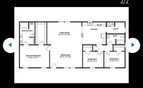 sq ft rectangular layout floor plan layout shed home apartment layout