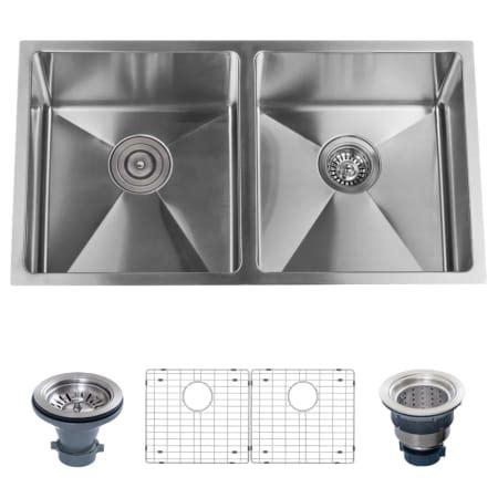 stainless steel kitchen sink racks miseno mno163219sr5050 16 stainless steel 32 8268