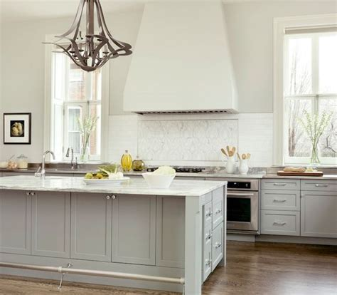 porter paints gray cabinets and gray kitchens on