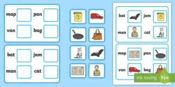 workstation pack picture  cvc  matching activity