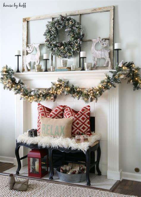 diy christmas mantel  decor ideas landeelucom