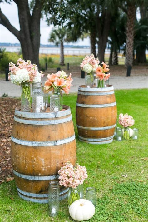 60 Rustic Country Wine Barrel Wedding Ideas Country