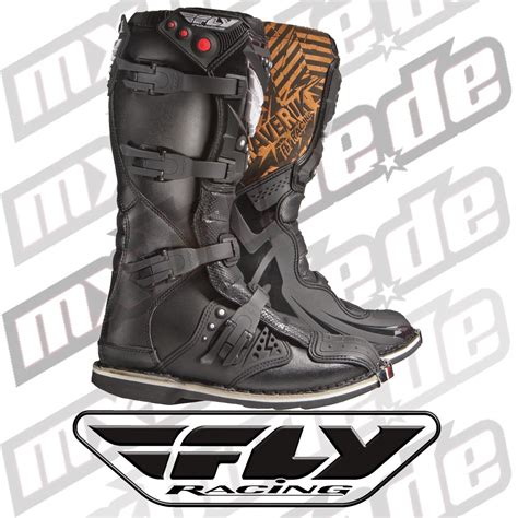 maverik motocross boots fly racing motocross boots maverik kid schwarz motocross