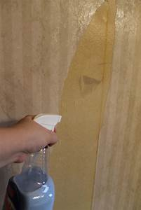 hip2thrift: How to remove old wallpaper easily {Bathroom ...