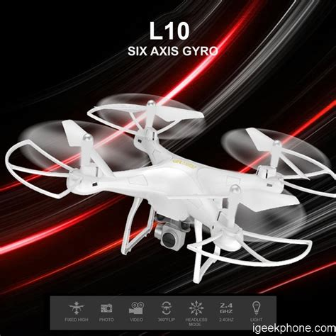 Wifi L Review by L10 Wifi Fpv Quadcopter Design Features Review Coupon