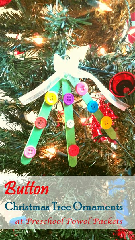 diy ornaments for from abcs to acts 652 | button tree ornaments 2
