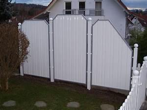 Sichtschutzzaun Kunststoff Weiß 180x180 : sichtschutz alu weiss die neueste innovation der ~ Whattoseeinmadrid.com Haus und Dekorationen