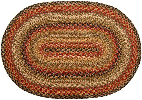 oval braided rugs braided rug kingston country primitive oval rug 27 x 45