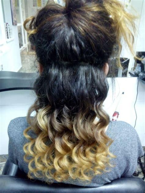 brush  curly hair hot air brush