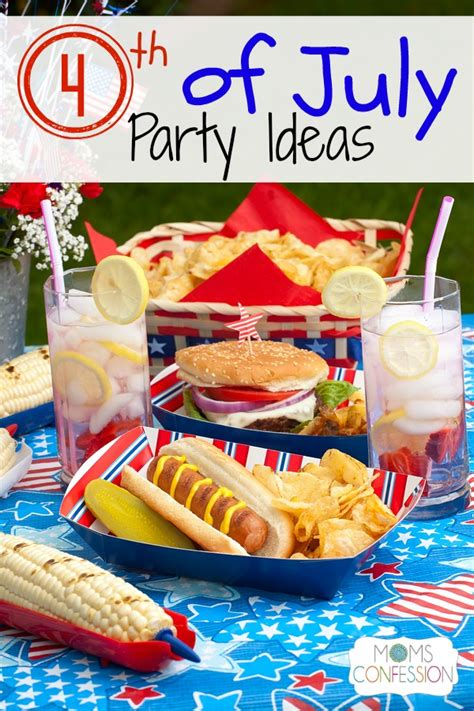 4th of july celebration ideas 4th of july party ideas