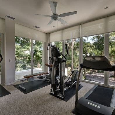 exercise sun room design pictures remodel decor  ideas home gym design gym room  home