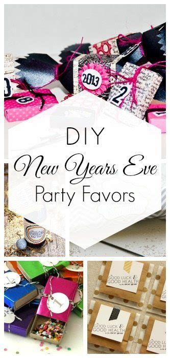Diy New Years Eve Party Favors  Taryn Whiteaker