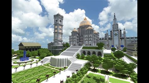 minecraft imperial city pantheon   youtube
