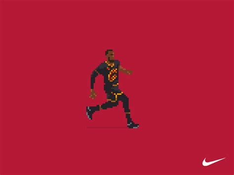 Nba Animated Wallpaper - lebron quot the block quot by pixel of fame dribbble