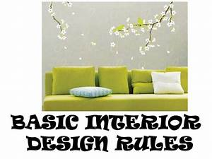 basic interior design rules With interior decorating guidelines
