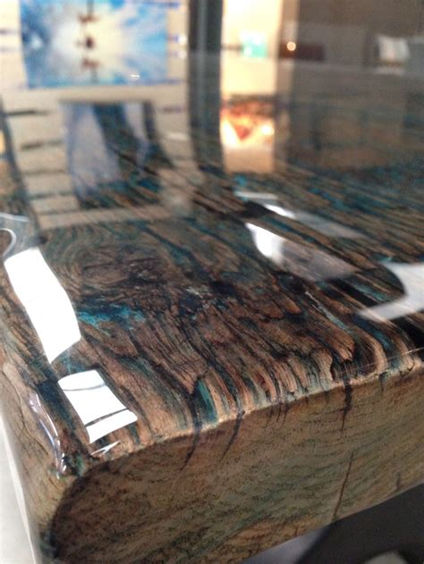 zoom  reclaimed wood tabletop  colour coating