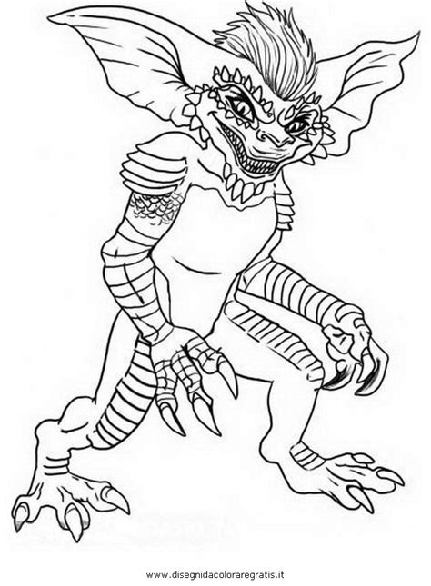 Gizmo Kleurplaat by Gizmo Gremlins Coloring Pages Gremlins