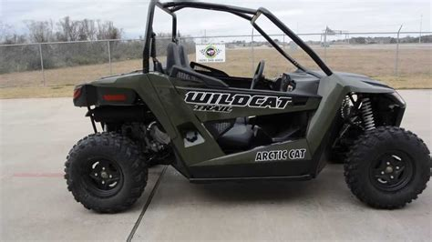 Mainland's First Look At The 2014 Arctic Cat Wildcat Trail