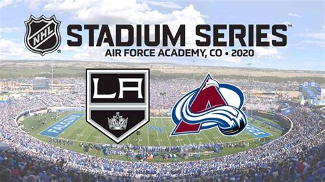 kings avalanche outdoor game set  air force venue