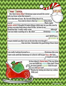 letter to santa 2013 for adults wink wink inkhappi With adult santa letters