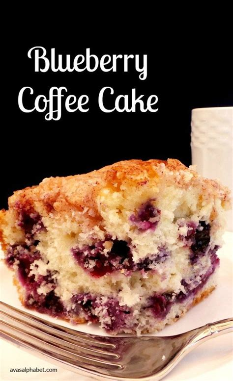 It's easy to make, too. Blueberry Coffee Cake | Recipe | Coffee cake, Easy cake recipes, Dessert recipes