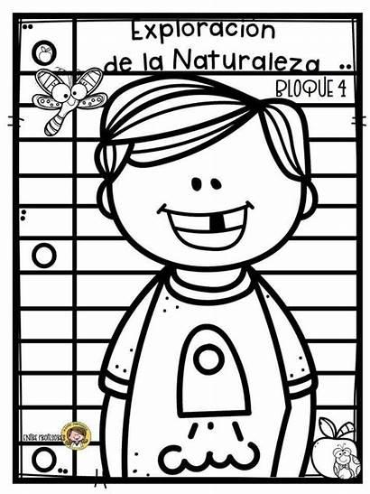 Colorear Portadas Bloque Dibujos Escolares Portada Colorir